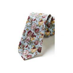 Krawaty męskie: Krawat męski w kwiaty PATONES