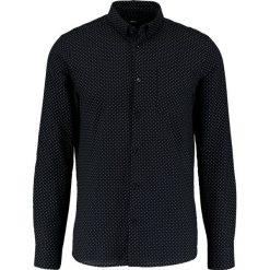 Koszule męskie na spinki: Burton Menswear London BASE GEO Koszula black