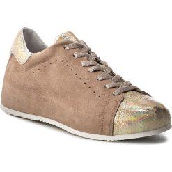 Sneakersy KHRIO - 171K4000MNCMQ Platino/Nude/Platino. Brązowe sneakersy damskie Khrio, ze skóry. W wyprzedaży za 369,00 zł.