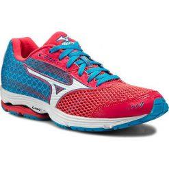 Buty MIZUNO - Wave Sayonara 3 J1GD153001 Niebieski Różowy. Czerwone buty do biegania damskie marki KALENJI, z gumy. W wyprzedaży za 309,00 zł.