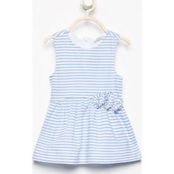 Sukienki dziewczęce: Bawełniana sukienka bez rękawów - Biały