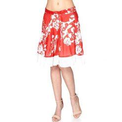Minispódniczki: Spódnica w kolorze czerwono-białym