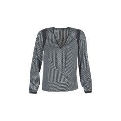 Bluzki Sisley  BOAVRE. Czarne bluzki damskie marki Sisley, l. Za 295,20 zł.