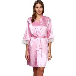 Szlafroki kimona damskie: Szlafrok w kolorze jasnoróżowym