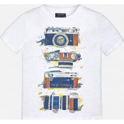 Mayoral - T-shirt dziecięcy 128-172 cm. Szare t-shirty męskie z nadrukiem Mayoral, z bawełny. Za 59,90 zł.