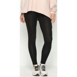 Spodnie damskie: Czarne Legginsy Work Out