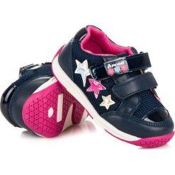 Buty dziecięce: DZIEWCZĘCE OBUWIE AMERICAN American Club niebieskie
