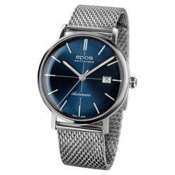 ZEGAREK EPOS Originale 3437.132.20.16.30. Niebieskie zegarki męskie EPOS, ze stali. Za 5700,00 zł.