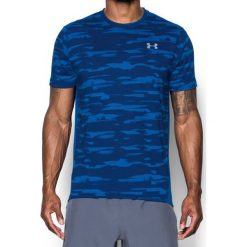 Under Armour Koszulka męska Threadborne Run Mesh SS niebieska r. M (1298851-984). Niebieskie koszulki sportowe męskie marki Under Armour, m, z meshu. Za 117,75 zł.