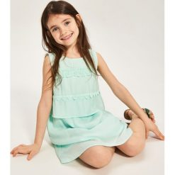 Sukienka bez rękawów - Zielony. Białe sukienki dziewczęce marki Reserved, l, z dzianiny. W wyprzedaży za 69,99 zł.