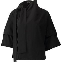 Bluzki asymetryczne: Navy London CAMILLA Bluzka black