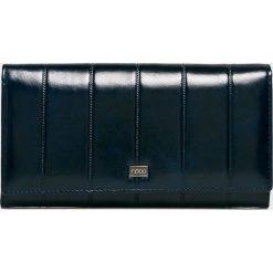 Nobo - Portfel skórzany. Czarne portfele damskie marki Nobo, z materiału. W wyprzedaży za 219,90 zł.