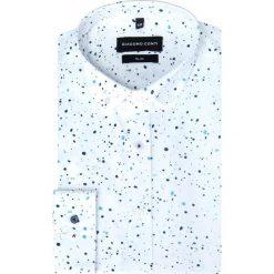Koszula SIMONE KDBS000250. Białe koszule męskie jeansowe Giacomo Conti, m, button down. Za 169,00 zł.