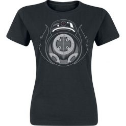 Star Wars Episode 8 - Die letzten Jedi - Bad BB-8 Koszulka damska czarny. Czarne bluzki z odkrytymi ramionami Star Wars, l, z motywem z bajki, retro, z okrągłym kołnierzem. Za 54,90 zł.