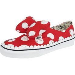 Vans Disney Authentic Gore Minnie's Bow Buty sportowe czerwony. Czerwone buty sportowe damskie Vans, z motywem z bajki, wspinaczkowe. Za 199,90 zł.