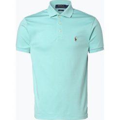 Polo Ralph Lauren - Męska koszulka polo, zielony. Zielone koszulki polo Polo Ralph Lauren, m, z haftami, z bawełny. Za 299,95 zł.