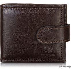 393cb09da8365 MAŁY SKÓRZANY PORTFEL MĘSKI PAOLO PERUZZI L-02. Czarne portfele męskie  marki Pakamera