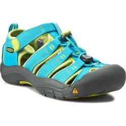Sandały KEEN - Newport H2 1012314 Hawaiian Blue/Green Glow. Niebieskie sandały chłopięce Keen, z gumy. W wyprzedaży za 179,00 zł.
