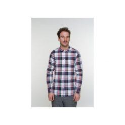 Koszula Proper D797/250MR. Szare koszule męskie na spinki Delikatessen, l, z bawełny, z dekoltem na plecach. Za 400,00 zł.