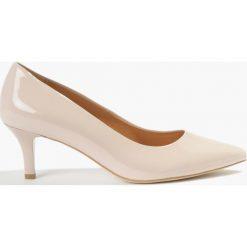 Czółenka różowe. Czerwone buty ślubne damskie Badura. Za 289,99 zł.