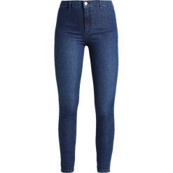 Topshop JONI NEW Jeans Skinny Fit blue denim. Niebieskie jeansy damskie marki Topshop. Za 209,00 zł.