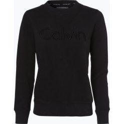 Bluzy damskie: Calvin Klein Jeans - Damska bluza nierozpinana, czarny