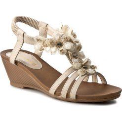 Sandały damskie: Sandały VIA RAVIA – WSX506-3 Beżowy