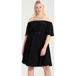 Sukienki hiszpanki: City Chic DRESS LADY VALERIE Sukienka letnia black