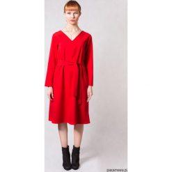 Sukienki balowe: Sukienka SIMPLICITY RED TRUE COLOR BY ANN