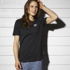 Koszulka Reebok Archive Vector Graphic (BQ2200). Czarne bluzki asymetryczne Reebok, z bawełny, z krótkim rękawem. Za 64,99 zł.