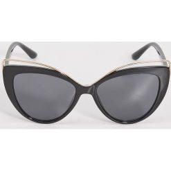 Okulary przeciwsłoneczne damskie: Okulary przeciwsłoneczne – Czarny