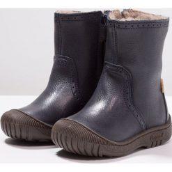 Bisgaard Śniegowce navy. Niebieskie buty zimowe chłopięce Bisgaard, z materiału. Za 469,00 zł.