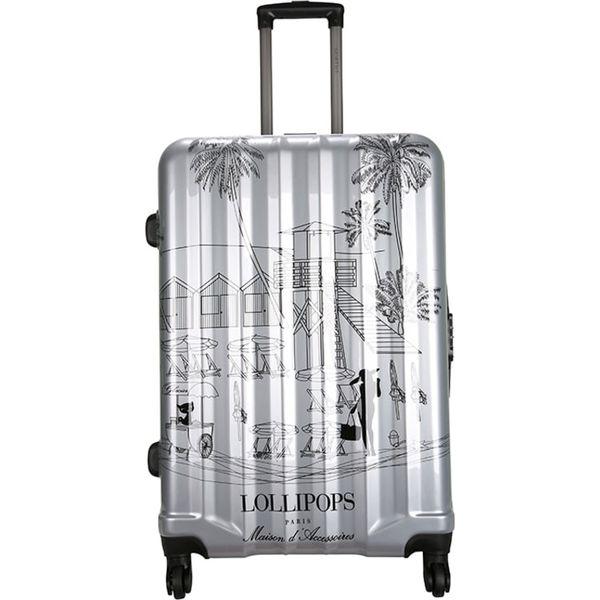 aeac6b706d094 Walizka w kolorze srebrnym - 107 l - Szare walizki marki Chippie ...