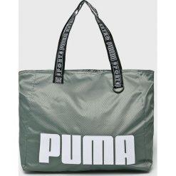 Puma - Torba. Szare torebki klasyczne damskie Puma, z materiału. W wyprzedaży za 159,90 zł.
