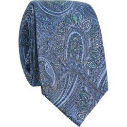 Jedwabny krawat KWWR007008. Szare krawaty męskie Giacomo Conti, z jedwabiu. Za 169,00 zł.
