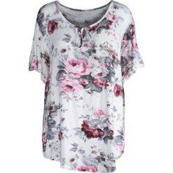 T-shirty damskie: Biały T-shirt Bergamot