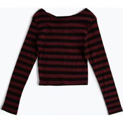Bluzki dziewczęce: Review - Dziewczęca koszulka z długim rękawem, czerwony