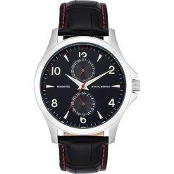 """Zegarki męskie: Zegarek kwarcowy """"Ringsted"""" w kolorze czarno-srebrnym"""