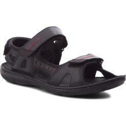 Sandały ŁUKBUT - 991 Czarny. Czarne sandały męskie skórzane Łukbut. W wyprzedaży za 149,00 zł.