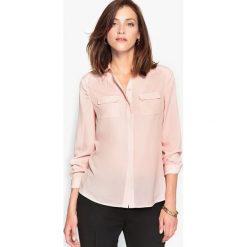 Bluzki damskie: Bluzka koszulowa z krepy