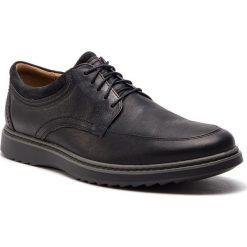 Półbuty CLARKS - Un Geo Lo 261368027 Black Leather. Czarne półbuty skórzane męskie Clarks. W wyprzedaży za 319,00 zł.