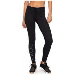 Roxy St On Pt 3 J Anthracite M. Czarne spodnie dresowe damskie marki Roxy, m. W wyprzedaży za 149,00 zł.