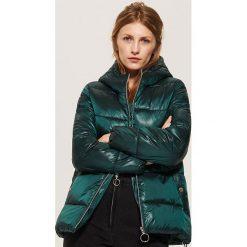 Pikowana kurtka - Zielony. Zielone kurtki damskie pikowane marki House, l. Za 159,99 zł.