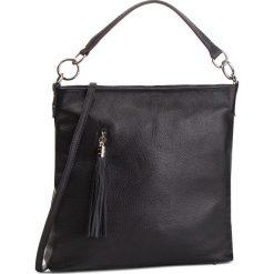 Torebka CREOLE - K10581 Czarny. Czarne torebki klasyczne damskie Creole, ze skóry. W wyprzedaży za 189,00 zł.
