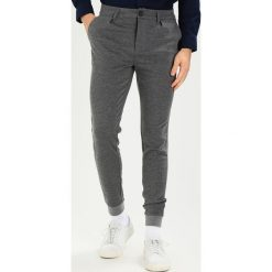 Spodnie męskie: Only & Sons ONSSTRIPE CASUAL Spodnie materiałowe medium grey melange