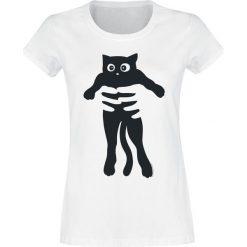 Cat Koszulka damska biały. Białe bluzki damskie CAT, s. Za 54,90 zł.