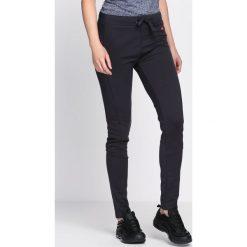 Spodnie dresowe damskie: Grafitowe Spodnie Dresowe Along
