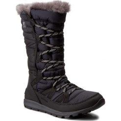 Kozaki dziewczęce: Śniegowce SOREL – Youth Whitney Lace NY1895-010 Black