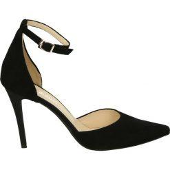 Buty ślubne damskie: Czółenka - 351 CAM NERO