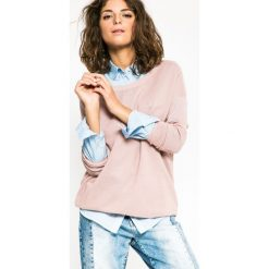 Medicine - Sweter Future Past. Szare swetry klasyczne damskie MEDICINE, l, z dzianiny, z okrągłym kołnierzem. W wyprzedaży za 59,90 zł.